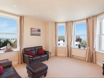 Photo for Stunning well equipped apartment close to sandy beach, restaurants, bars & shops