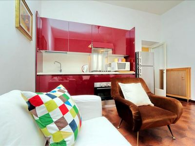 Photo for Gessi  apartment in Testaccio-Piramide with WiFi & lift.