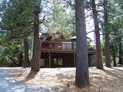 Photo for Yosemite Cabin with Huge Game  Room and Spacious Deck, free hi-speed Wi-Fi!