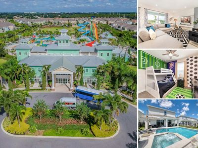 Photo for Free shuttle Disney/Private Pool & spa/Incl Water Park/Themed Bedrooms/