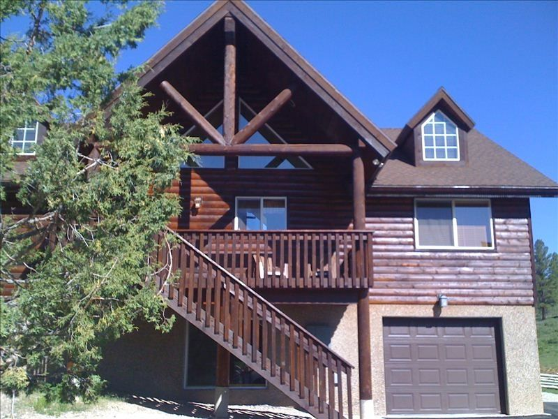 Stunning mountain cabin between bryce canyo vrbo for Bryce canyon cabin rentals