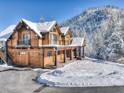 Photo for Luxury Squaw Valley Home w/ Mountain Views & Spa