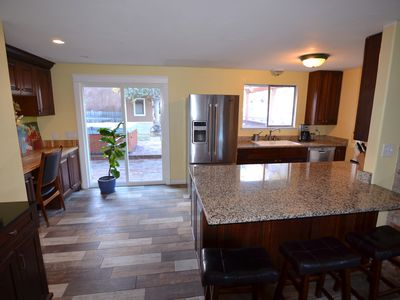 Photo for Very private 3 br close to Old Mill. Hot tub!