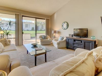 Photo for Mountainview desert jewel w/ shared pools, hot tubs, tennis - on golf course!