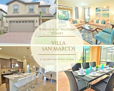 Photo for Stunning 6 bedroom, 4.5 bathroom home with games room, pool/jacuzzi in Windsor at Westside