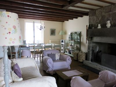 Photo for Great charming house in the heart of a medieval town of Auvergne