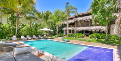 Villa Angelina-6 Bd, Family Friendly Tortuga Bay, Golfer's Dream, Walk To Beach