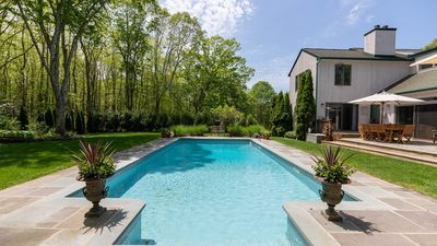 Photo for Secluded Southampton House, Tucked into the Trees Near Golf & Beaches, Private Heated Pool