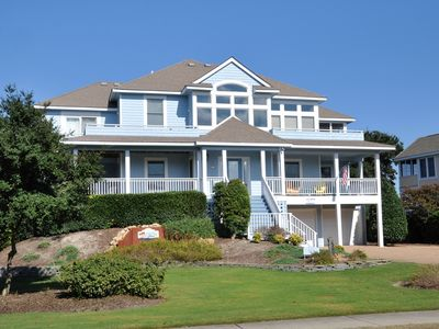 Photo for Fore-ever Shore: 5 BR / 5 BA house in Corolla, Sleeps 16