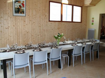 Photo for Comfortable cottage for 20 people - heated indoor pool - facing Mont-Saint-Michel
