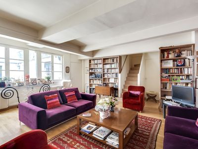 Photo for Bright and spacious duplex in the heart of Paris