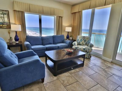 Photo for Calypso 3BR/3BA 9th Flr End Unit 4 King Bed Open 3/16-23 4/6-13  4/20-27