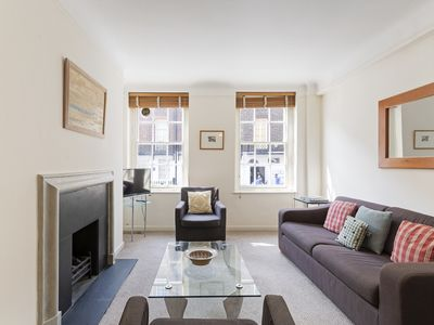 Photo for Modern 1Bed w/ Decorative Fireplace in Sloane Square