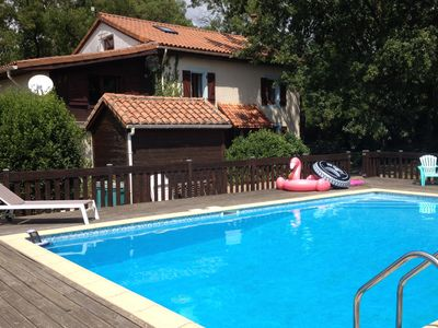 Photo for Beautiful Detached Charentais Farmhouse with Large Pool and Open Views