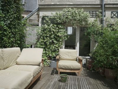 Photo for Stunning flat in central paris with a private terrasse