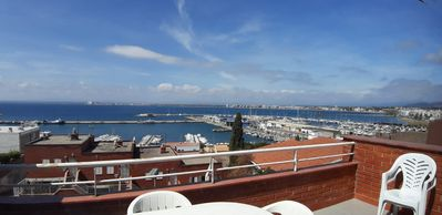 Photo for Duplex very close to beach and town. Terrace with sea views.