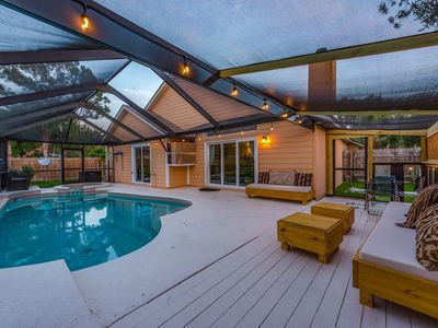 Photo for 4 Bedroom 3 Bath single family pool/spa home with a private office ready for you