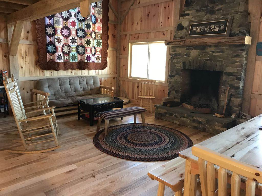gorgeous amish built post and beam cabin on 10 acres near raystown lake gorgeous amish built post and beam cabin o      vrbo  rh   vrbo