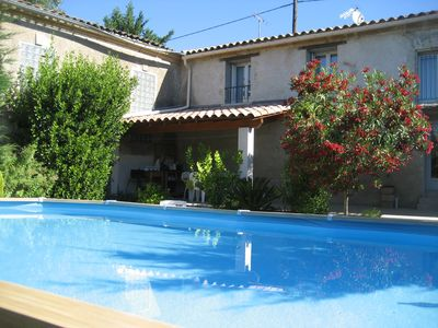Photo for 'The Terrace' Cottage - Swimming pool - Pezenas   20km from Cap d'Agde