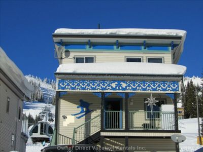 Photo for Best Location on the Mountain!!! Ski In/Out A Home Away From Home