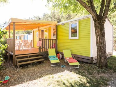 Photo for Camping Princes of Orange **** - Cottage Pop'art 4 rooms 6 persons