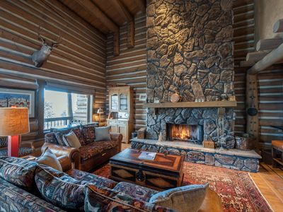 Photo for NEW LISTING. Charming Chalet. Private hot tub. Ski to the door! Perfect Location
