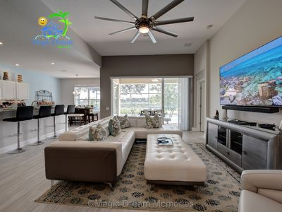 Photo for Windsor Hills Premium MDM 4/4 Lake View Home w/South Pool - 2 mi from Disney