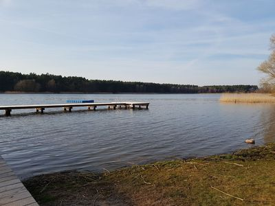 Photo for Cheap bungalow on Barniner lake near the Baltic Sea