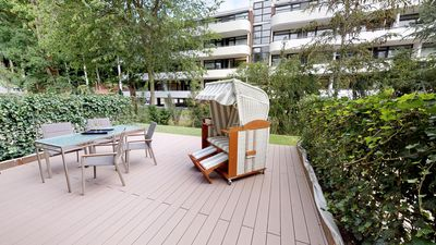 Photo for Luxury in a prime location with sauna, terrace and garden - first occupancy summer 19