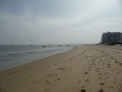 Photo for Sea view apartment direct access beach