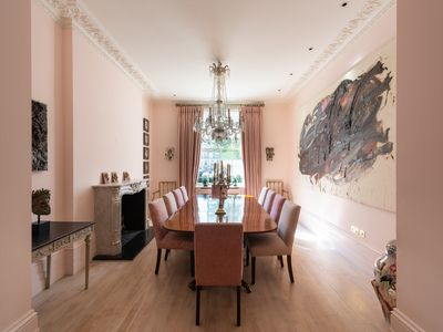 Photo for Spectacular 6BR townhouse in chic Knightsbridge, moments to Harrods, by Veeve