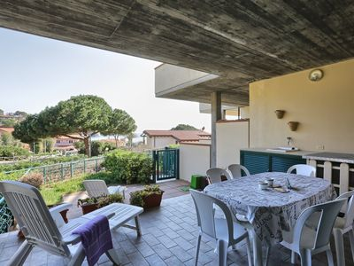 Photo for Apartment 50 meters from the beach of Morcone