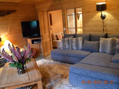Photo for The Tavaillons 2, 4-star apartment in a magnificent alpine chalet