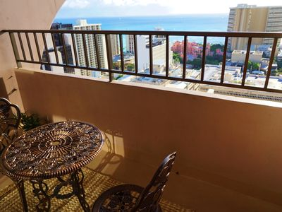 Photo for Sweeping Ocean View 1BR, Free Parking, Full Kitchen, Wifi!