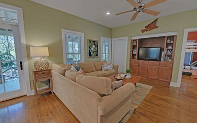 Photo for Home near Beach w/ Free WiFi, Flatscreen TV, Private Porch & Communal Pool