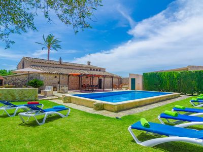 Photo for AUBADELLET (CAN RANDA) - Villa with private pool in Vilafranca De Bonany.