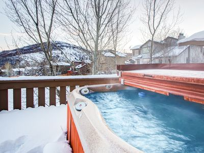 Photo for Condo with Mountain-View Hot Tub in Park City