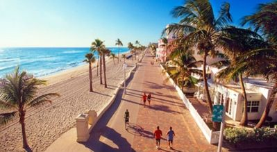 Beautiful Apartment Centrally Located Homeaway Hallandale Beach Hollywood Boardwalk Florida