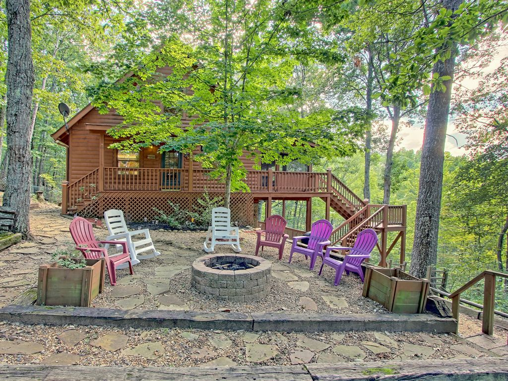 secluded dog friendly cabin w private vrbo