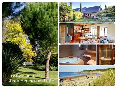 Photo for IN THE HEART OF NATURE: Charming cottage between Saint-Malo and Mont Saint-Michel