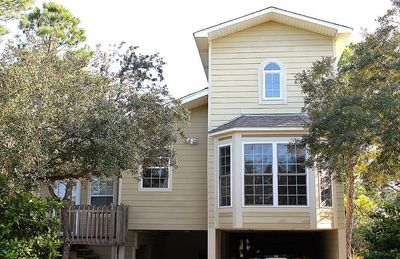 Photo for SECLUDED FT MORGAN GET-AWAY UNDER MAJESTIC OAKS, SHORT WALK TO THE BEACH !