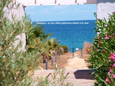 Photo for BEAUTIFUL VILLA, 3 CH, CLIMATISEE, BEACH 150M, PRIVATE GARDEN, HEATED SWIMMING POOL.