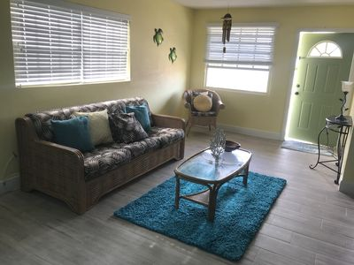 Living Area (Pullout Sofa Bed)