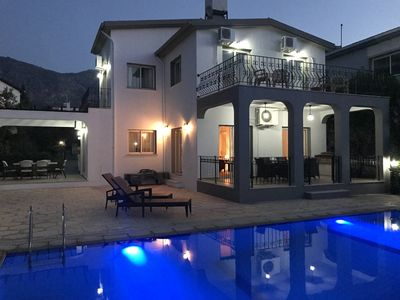 Photo for Luxury Villa w/Private Overflow Pool-Panoramic Sea Views/Mountain Views To Rear