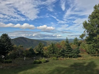 Photo for Stunning Views, Beautifully Appointed Home close to Wineries, Primland & Parkway