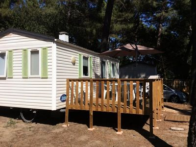 Photo for Camping La Simioune *** - 3 room mobile home 4 people