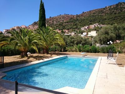 Photo for Semplice Aggrondu - Rental villa 8 people with swimming pool, near Calvi, Corsica