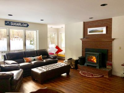 Photo for Beautiful Ski-in/Ski-out Sugarloaf Home on Snubber Trail