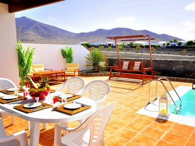Photo for Villa Marta with private heated pool, wifi, air conditioning, etc ..