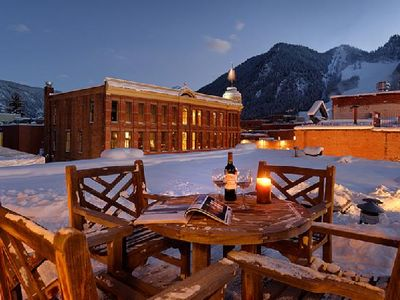 Photo for Luxury  two bedroom penthouse w/ private rooftop deck in heart of Aspen!
